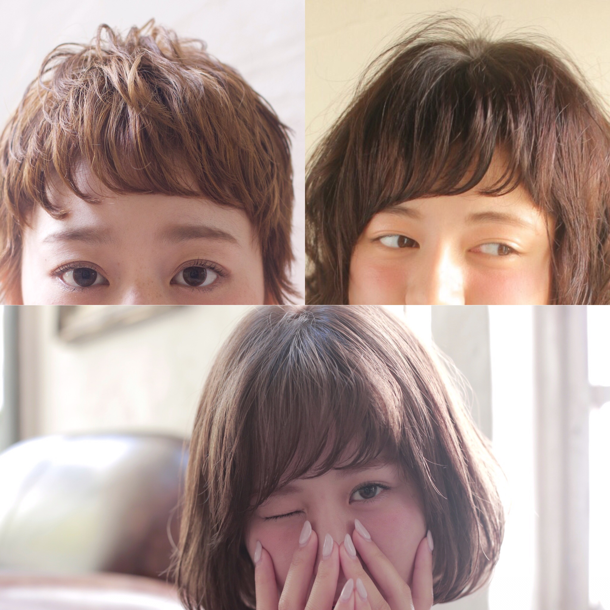 前髪のメンテナンス!