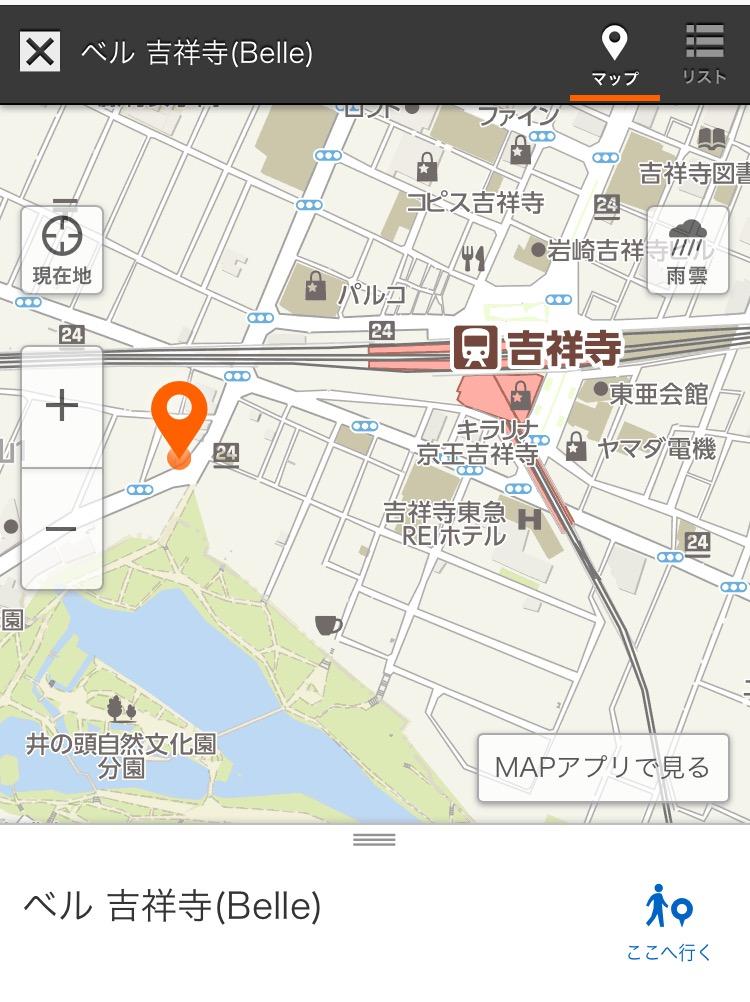 地図の間違いにご注意下さい!