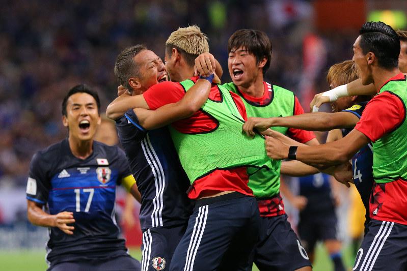 日本代表ワールドカップ出場!