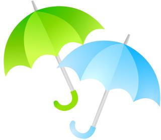 雨でも安心!
