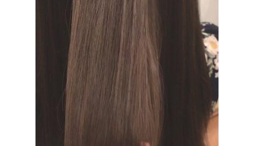 シアーベージュで柔らかい髪に!