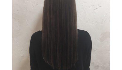 くせ毛、うねりを改善する柔らかストレート
