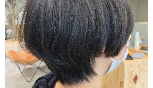 【お客様スタイル】髪質を活かしたショート