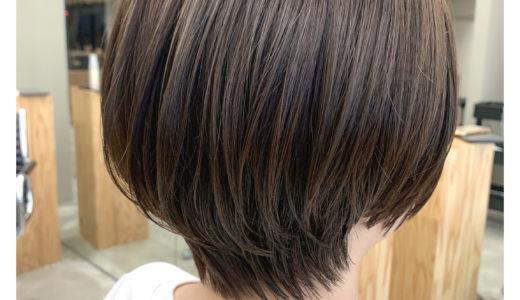 【お客様スタイル】頭の形がキレイに見えるショートヘア